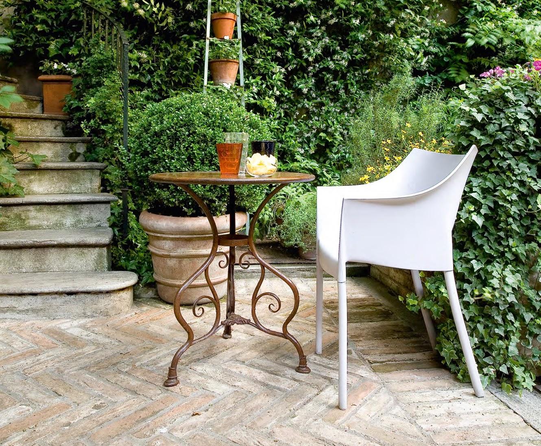 Stuhl für den Garten