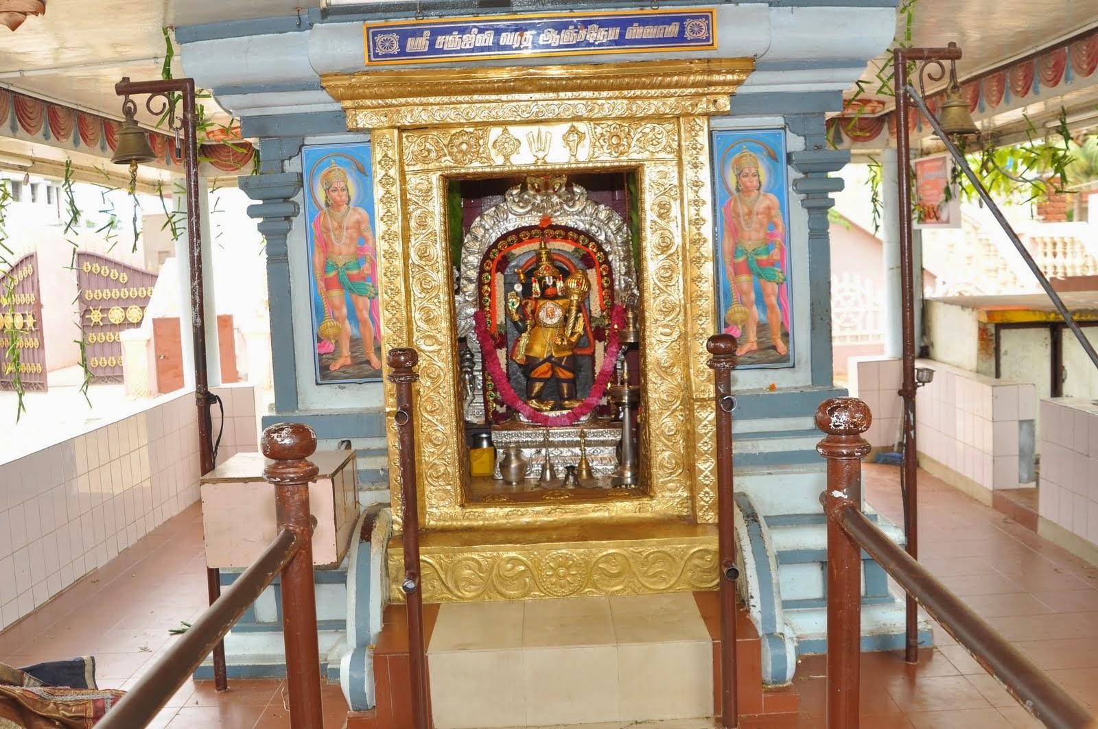 getwell anjaneyar temple tirunelveli tamilnadu