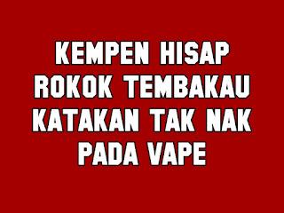 Larangan Penggunaan Rokok Elektronik atau Vape di Sekolah