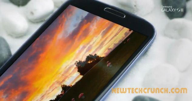 Samsung Galaxy s3 display features