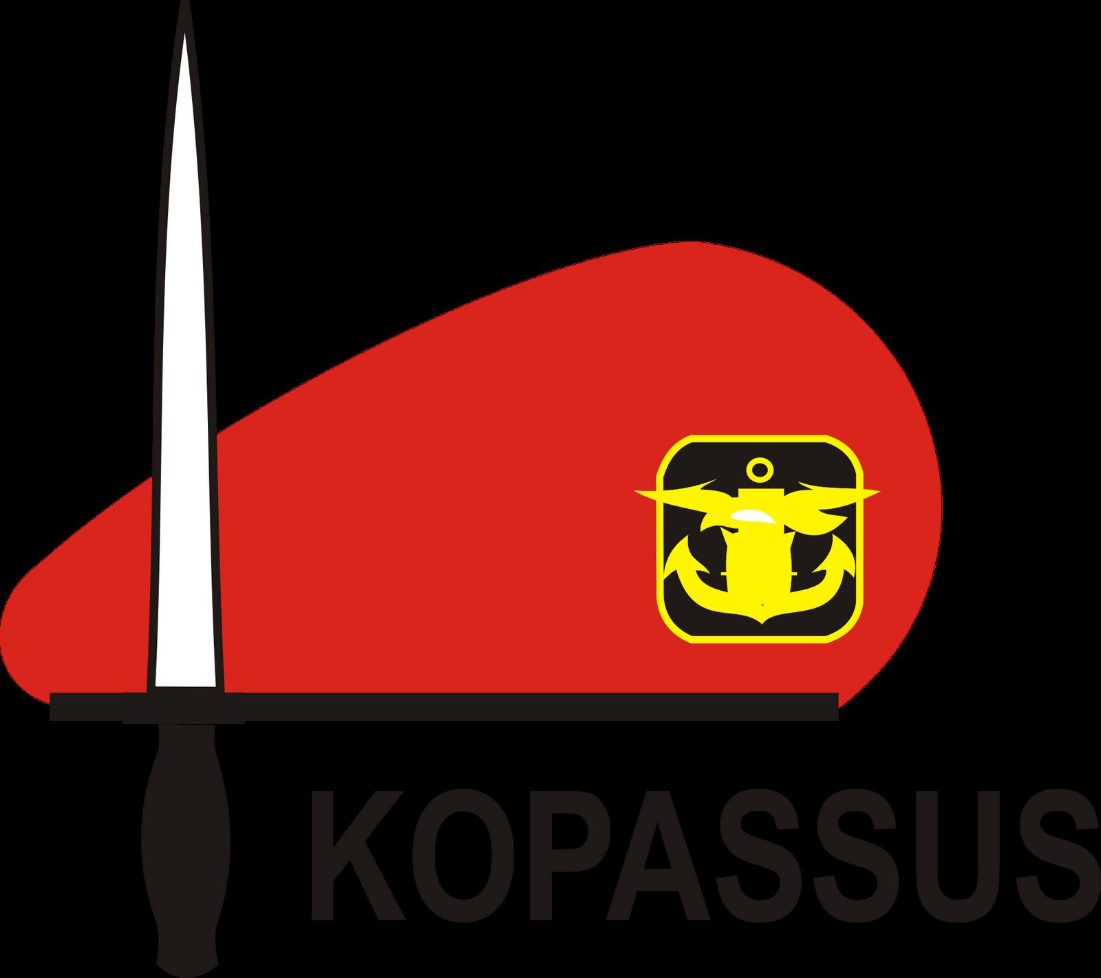 Baret Kopassus Kostrad Dan Polisi Militer Kumpulan Logo Indonesia