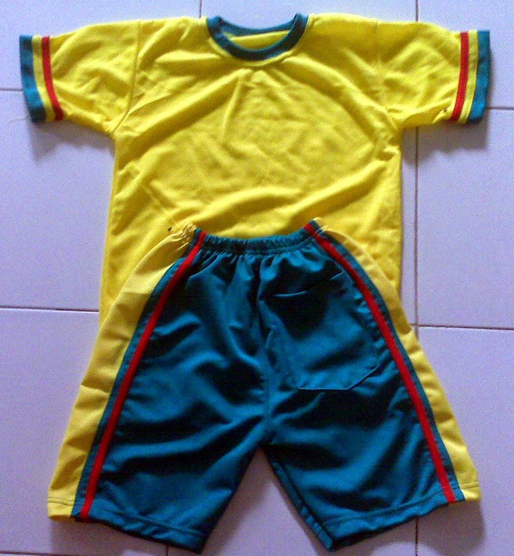 Gambar Desain Model Kaos Olahraga Sekolah Terbaru