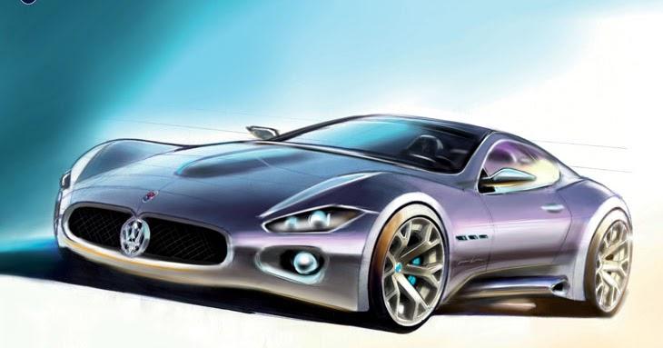 Maserati Gran Turismo 2007 Supercar Sketches Gallery