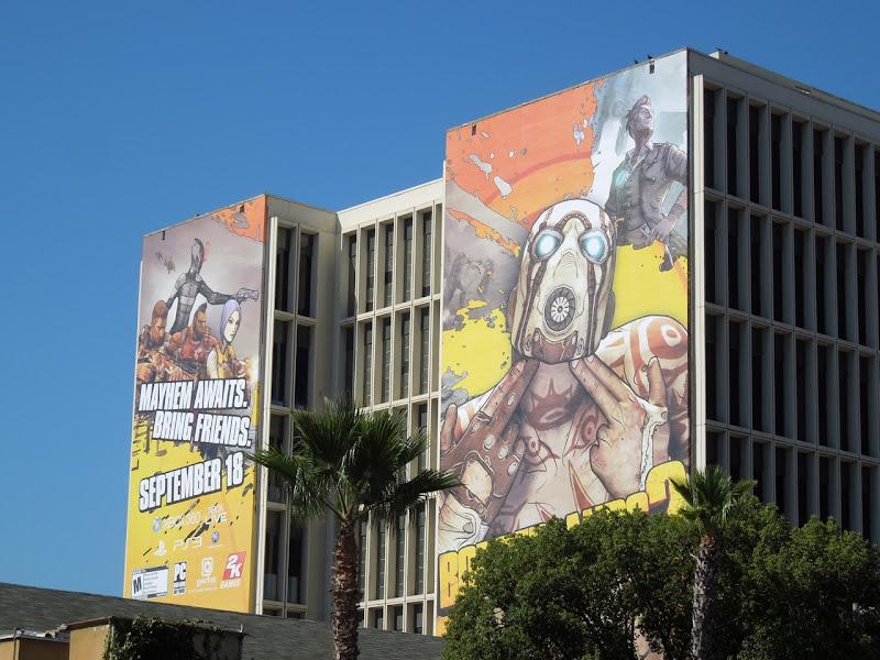 Borderlands 2 billboards