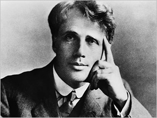 a short biography of robert frost Robert frost was born in san francisco, california, to journalist william prescott frost, jr, and isabelle moodie frost's father was a teacher, and later an editor of the san francisco evening bulletin (later the san francisco examiner), and an unsuccessful candidate for city tax collector.