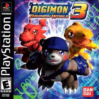Free Downlaod Games Digimon World III PSX ISO Untuk KOmputer Full Version ZGASPC