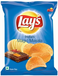 Fritolay Indian Magic Masala Crisps