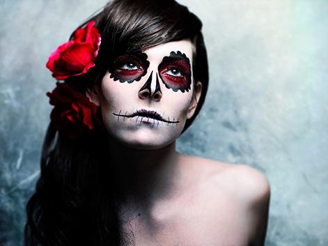 Halloween makeup ideas Dia de los muertos