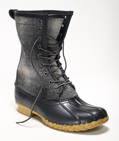 "Wool 10"" Signature Bean Boot"