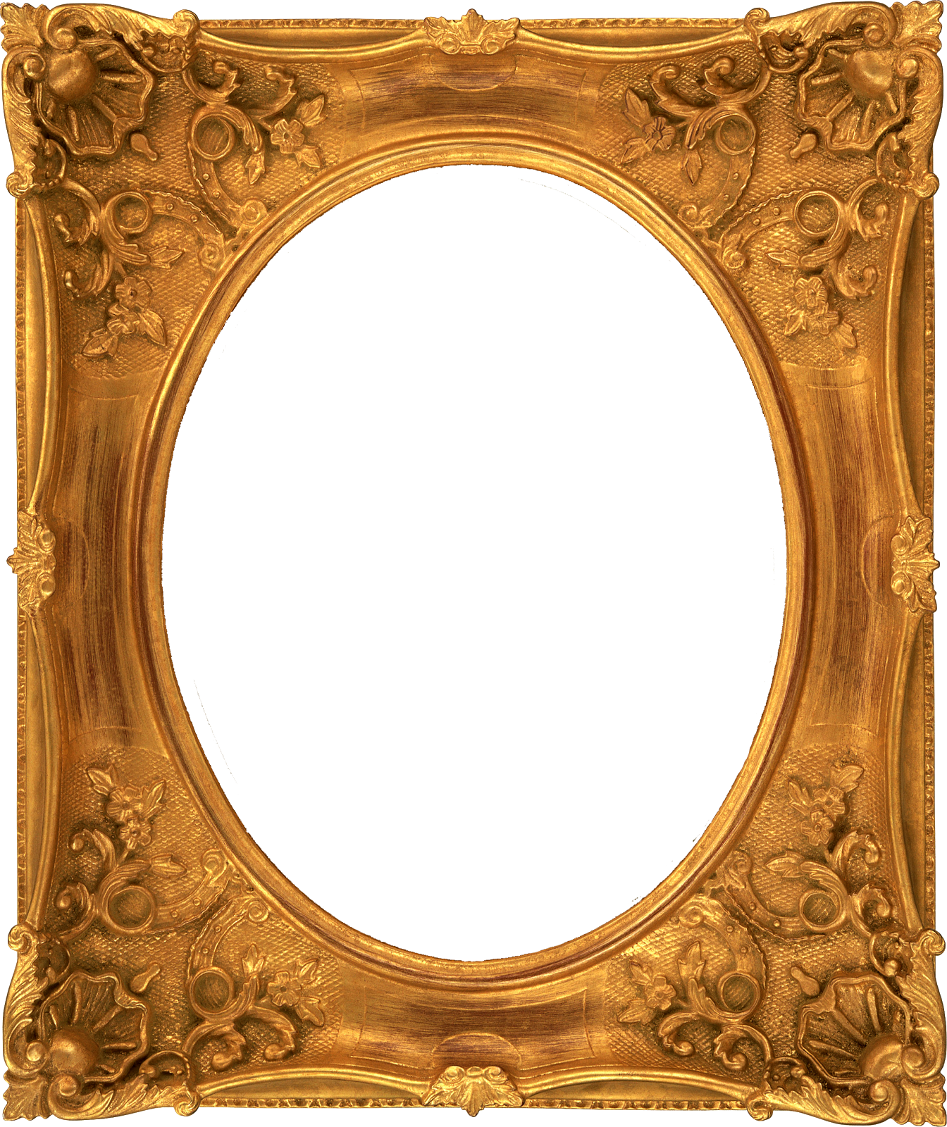 Freebie 4  Fancy Vintage Ornate Digital Frames Oval Vintage Frames Png