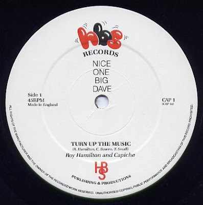 ROY HAMILTON & CAPICHE - Turn It Up  1984