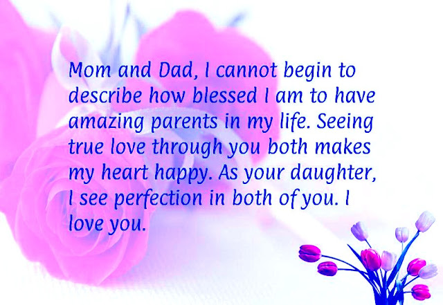 Parent's Day Wishes sayings Images