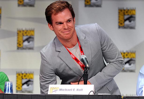 ... turn as Dexter Morgan, the serial killer who kills other serial killers, ...