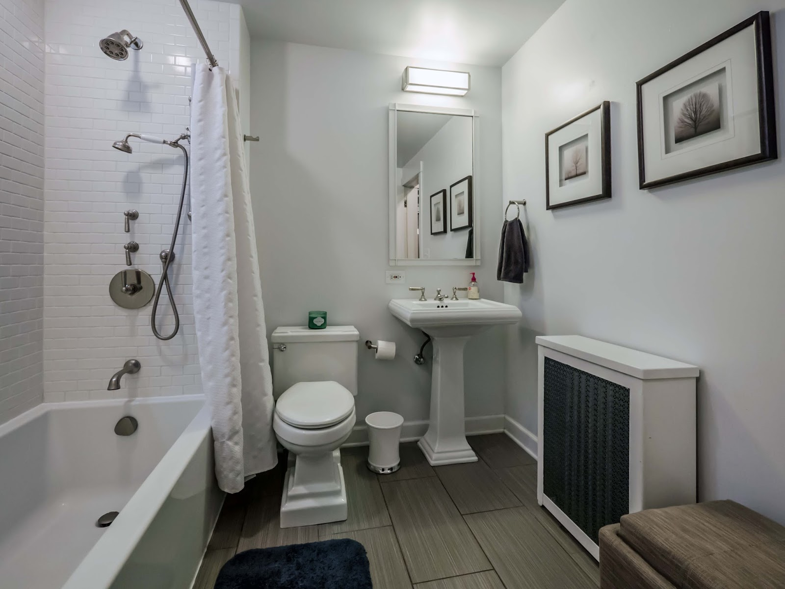 The chicago real estate local new for sale gorgeous east lakeview condo two bedrooms den Bathroom light fixtures chicago