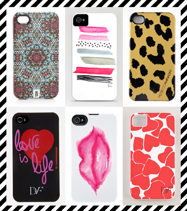 mimiandmegblog.com : TECH CHIC // iPhone Cases