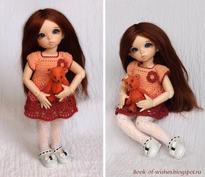 LittleFee mini teddy-bear