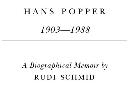 Biographical Memoir