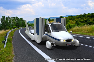 Flying Car - Terrafugia The New Transition