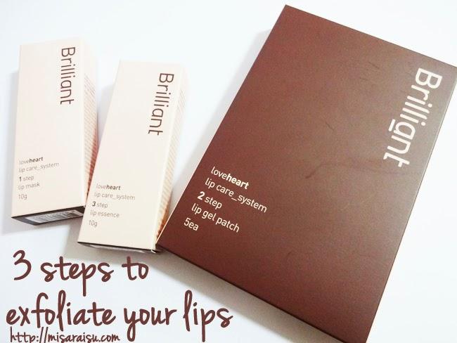 exfoliate lips