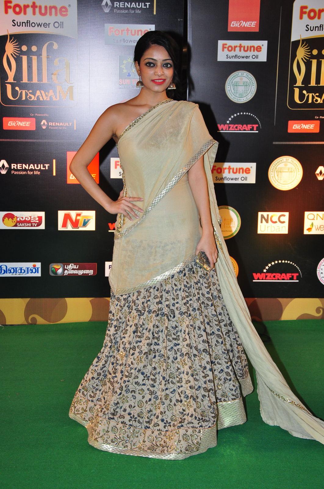 janani iyer glamorous in saree-HQ-Photo-18