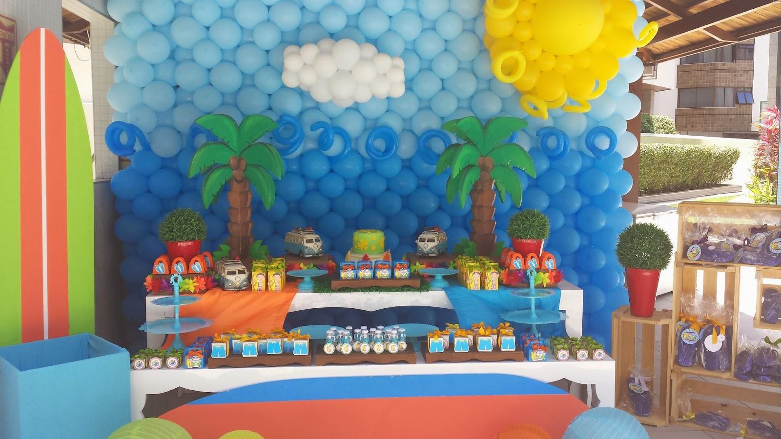 Festas e Cia  Arquitetura e Eventos Festa na piscina