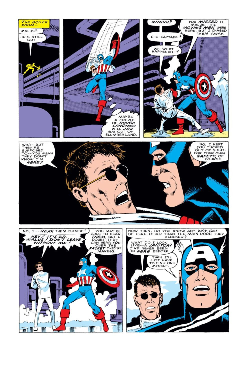 Captain America (1968) Issue #329 #258 - English 16