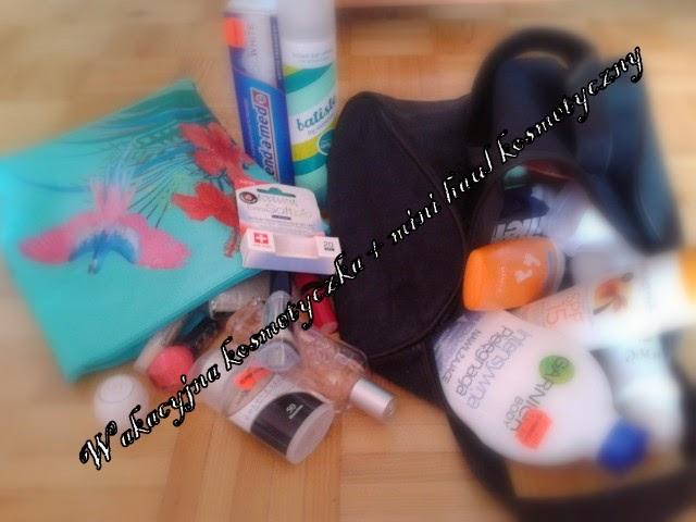 Moja wakacyjna kosmetyczka + mini haul kosmetyczny