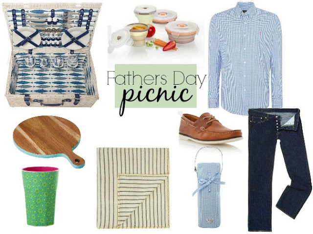 Fathers day picnic moodboard