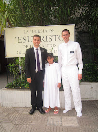 Elder Keller, Sabrina, and Elder Sommerfeldt
