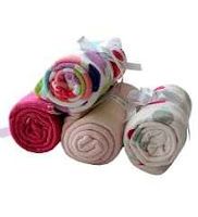 Buy Azaani Pink Super Soft Baby Blanket – Set of Four at Rs 360 Via Pepperfry:Buytoearn