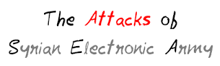 The Attacks of Syrian Electronic Army mohitchar