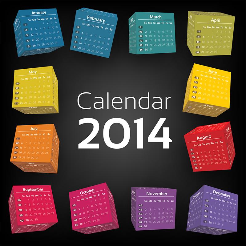カレンダー カレンダー フリー 2014 : カレンダー2014フリー ...