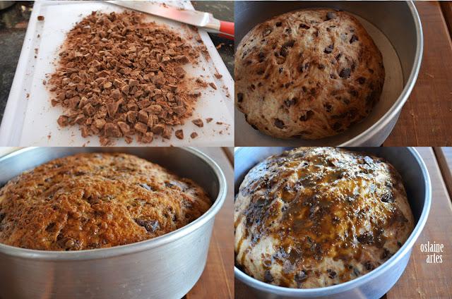 Pão Integral de Chocolate