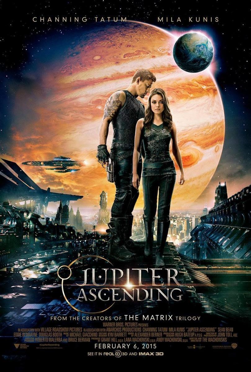 el destino de júpiter, wachowski, channing tatum, mila kunis, eddie redmayne, el zorro con gafas