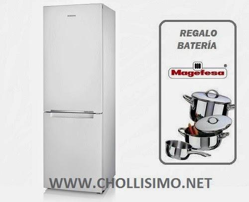 CHOLLO Frigorifico A+ Y Bateria Cocina 234,5€