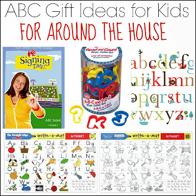 ABC Gift Ideas for Kids for Around the House from And Next Comes L