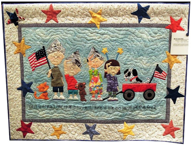 4th+of+July+kids+by+Barbara+Shates,++seen+at+quiltinspiration.blogspot.com Patriotic Quilts: Happy 4th of July!