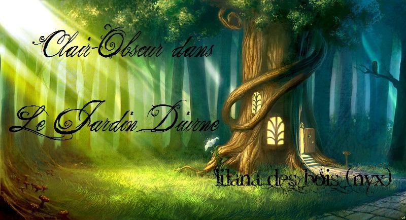 Clair-Obscur dans le jardin diurne