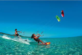 Kitesurf deportes de agua