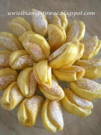 Serowe usteczka z jabłkami