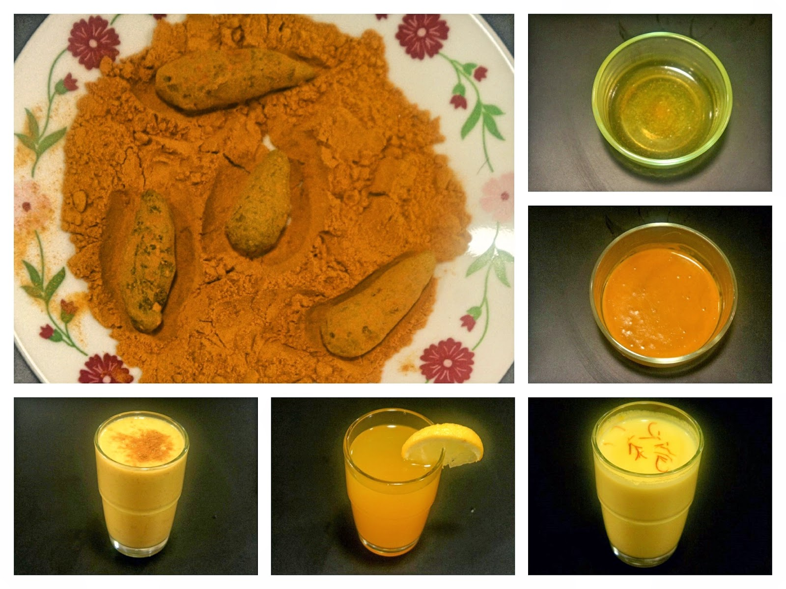 Just Homemade: 5 Golden Remedies Using Turmeric (The Golden Goodness)