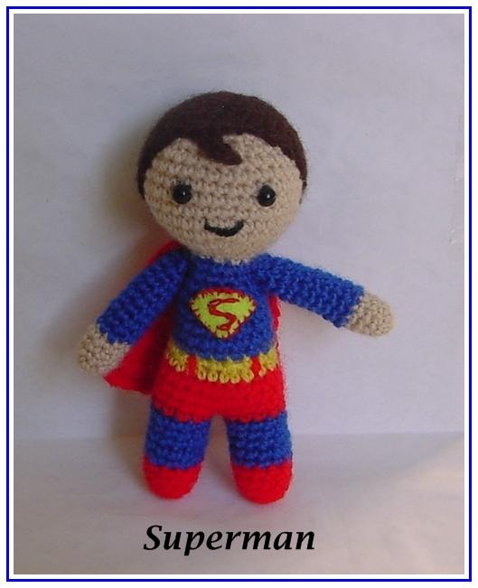 El mundo de los Amigurumis : Superman amigurumi