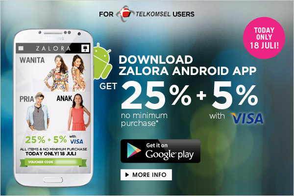 Zalora Mobile App for Android