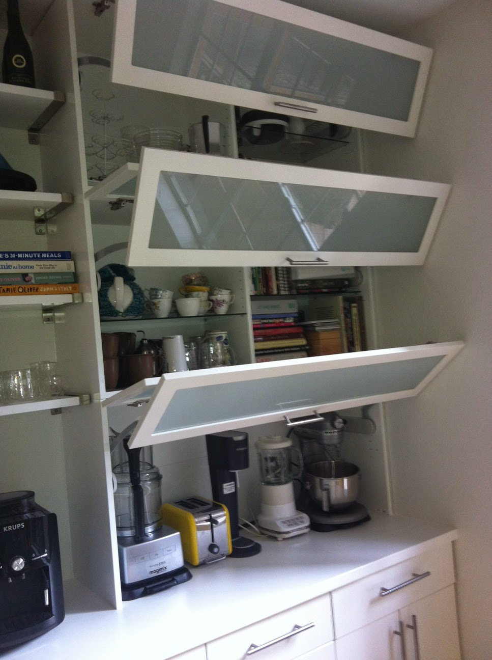 Ikea Shelves In Garage