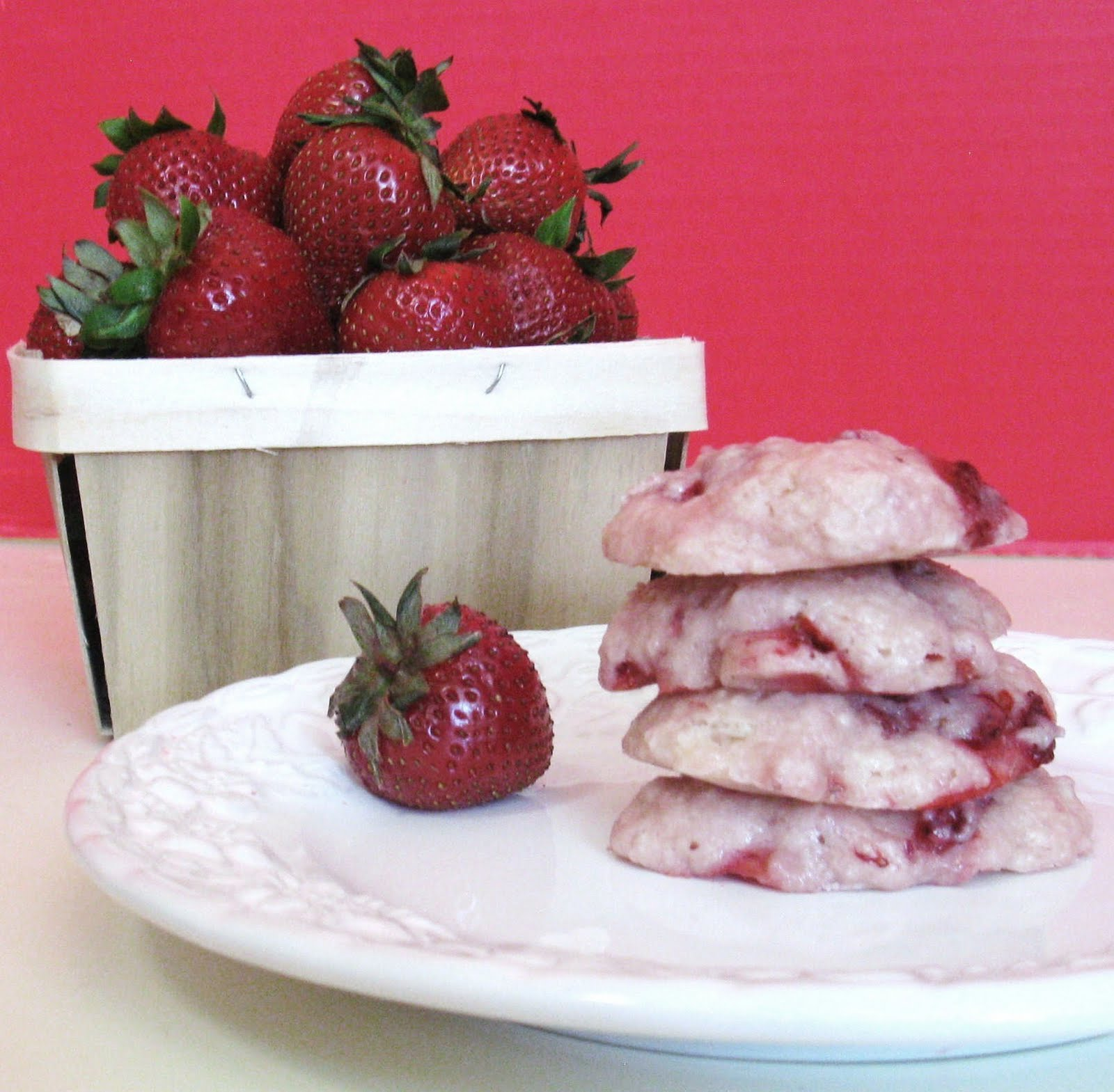 Strawberry-Shortcake Cookies Recipe — Dishmaps