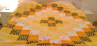 easy patchwork quilt topper/duvet cover tutorial