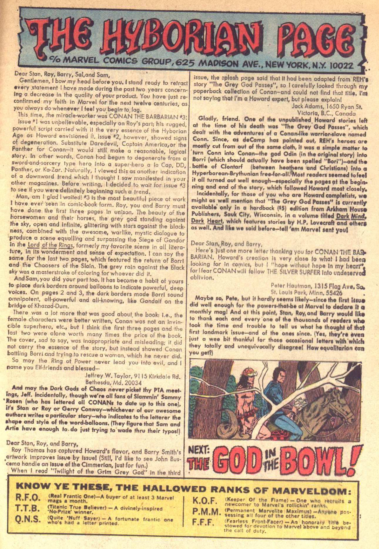 Conan the Barbarian (1970) Issue #6 #18 - English 22