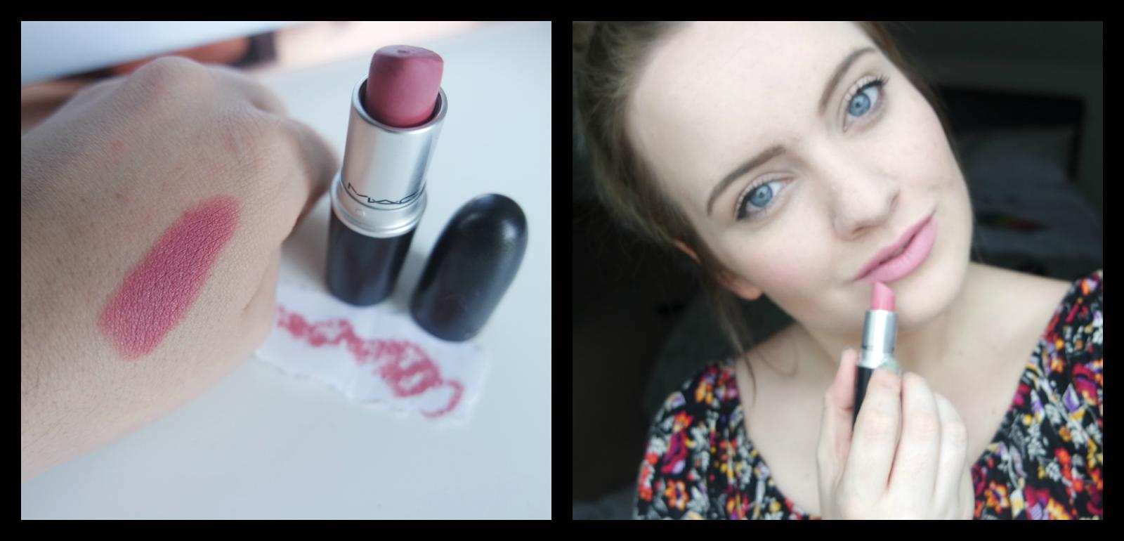 Emily & Han xo: MAC Pink Plaid Lipstick