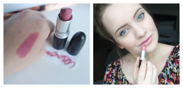 MAC Pink Plaid Lipstick Review/Swatch/Swatches