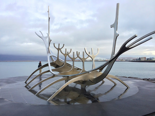 iceland, reykjavik, travelling,the sun voyager